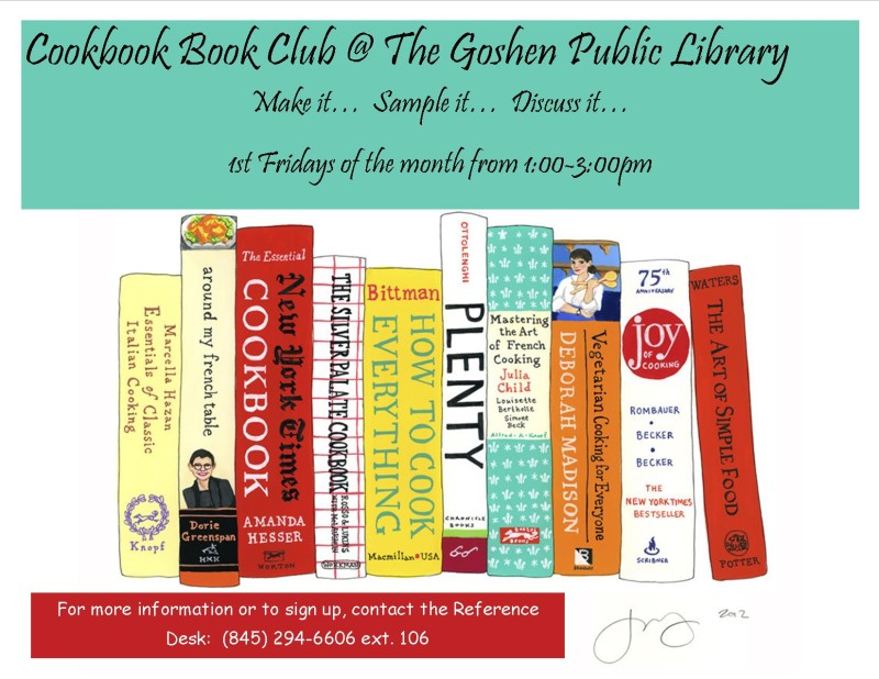 Cookbook book club dpf