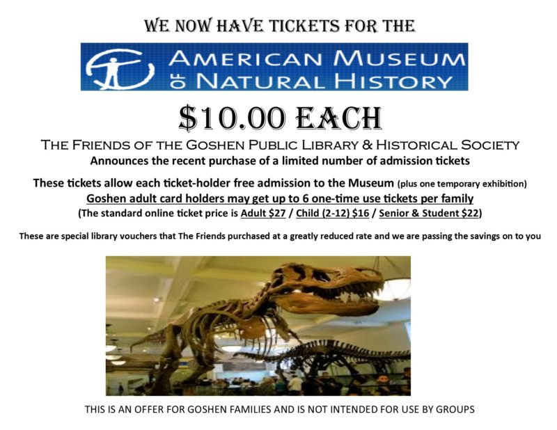 american museum of natural history flyer 2.13.17