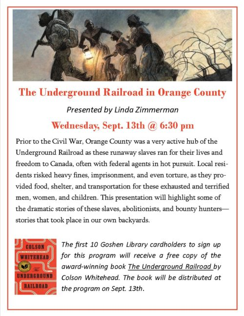 The Underground Railroad in Orange County dpf