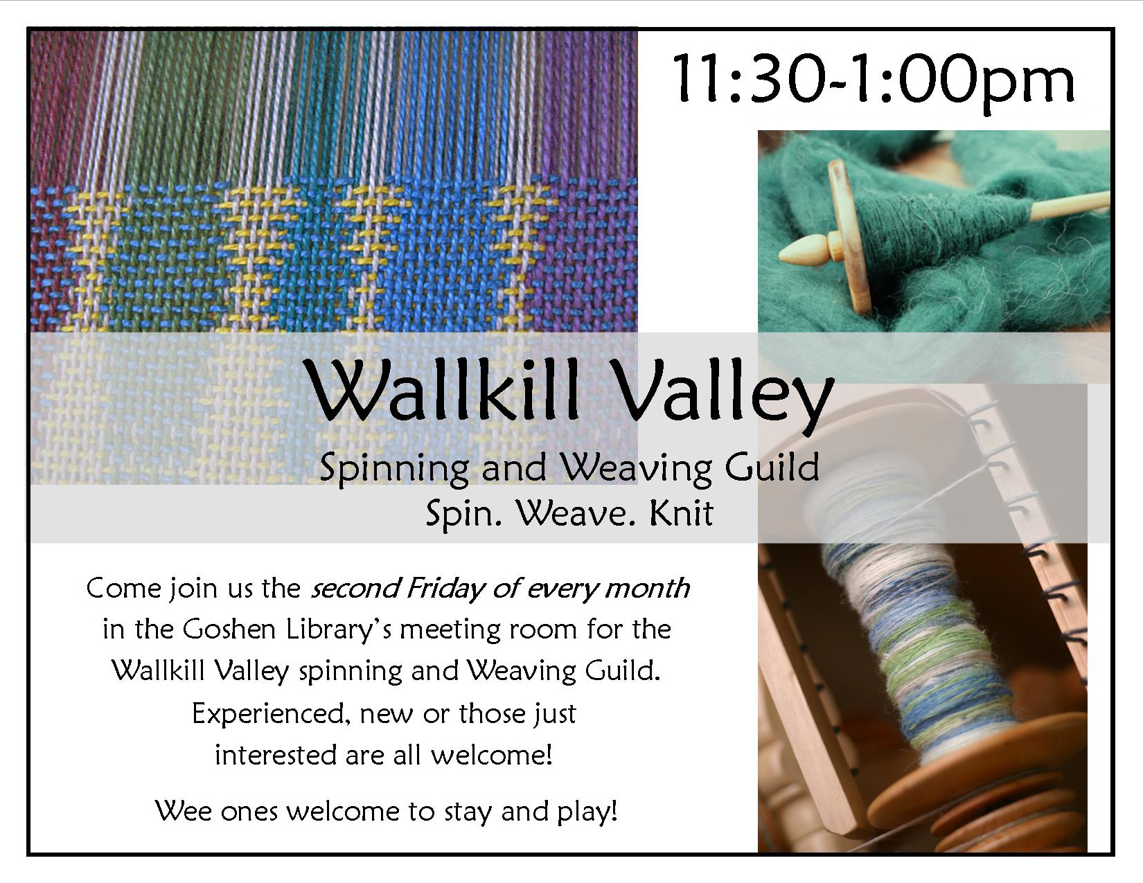 Spinning & weaving guild update '18