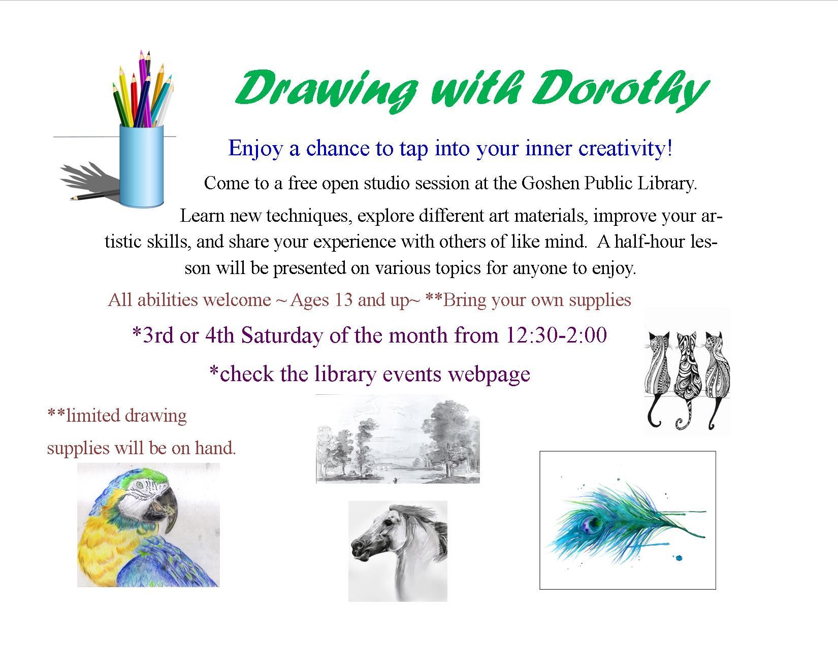 Drawing with Dorothy flyer2