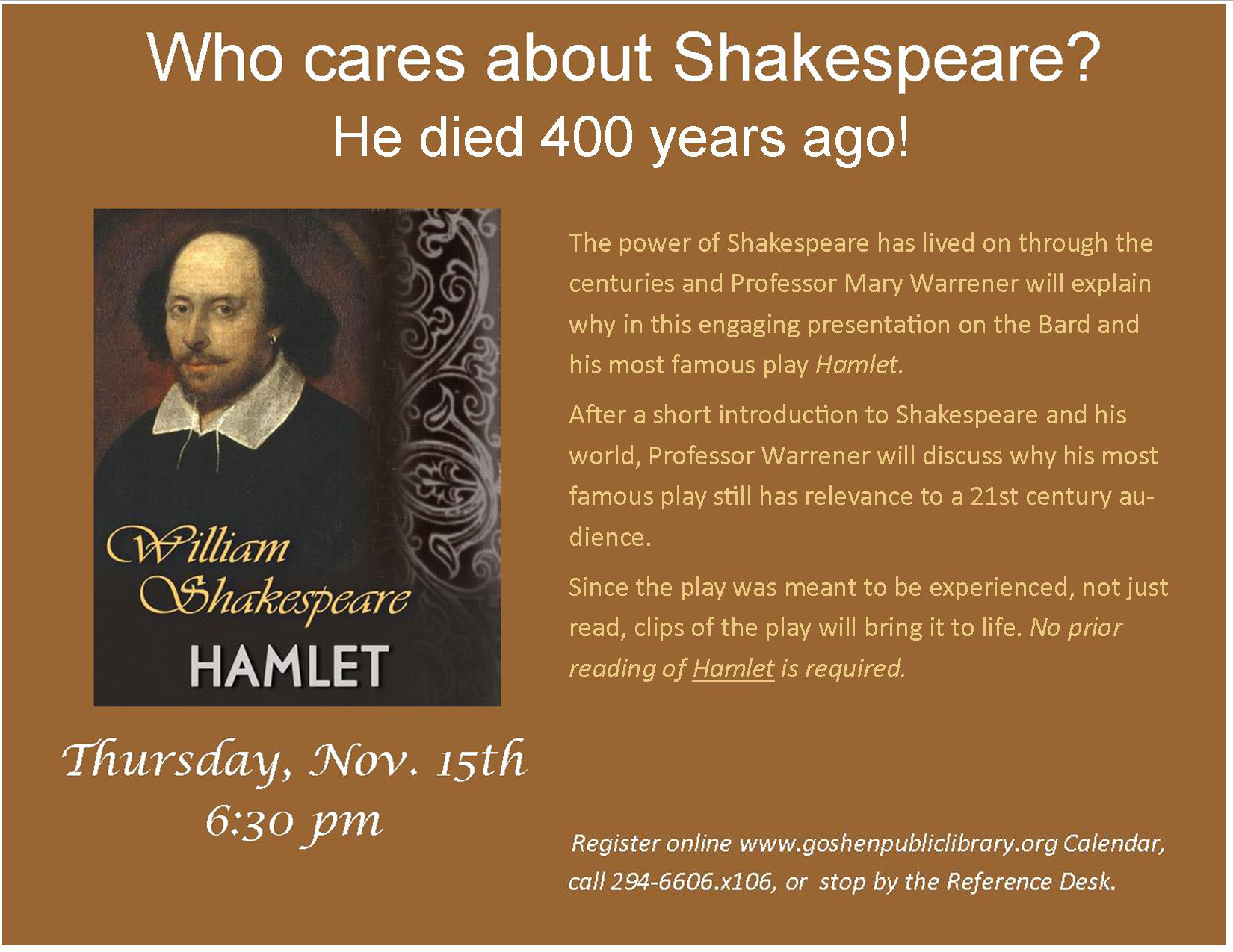 Shakespeare and Hamlet