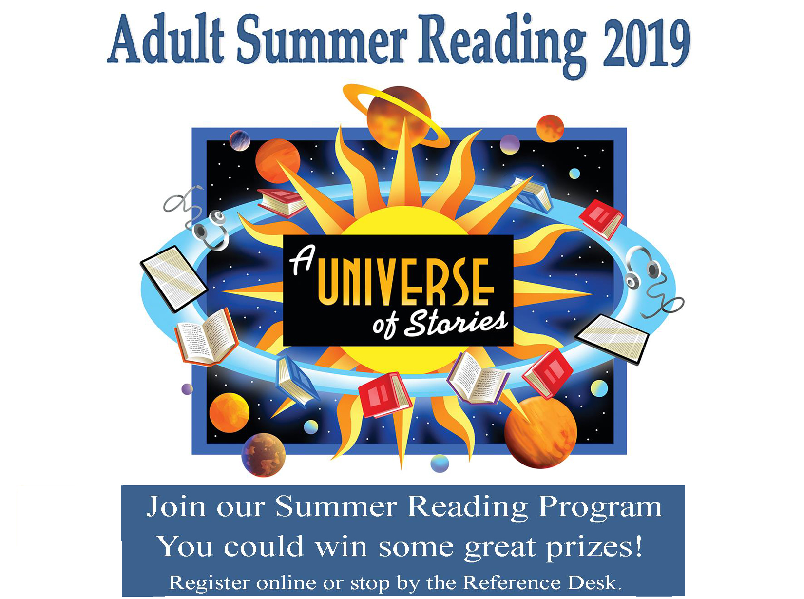Join our Summer Reading Program 2
