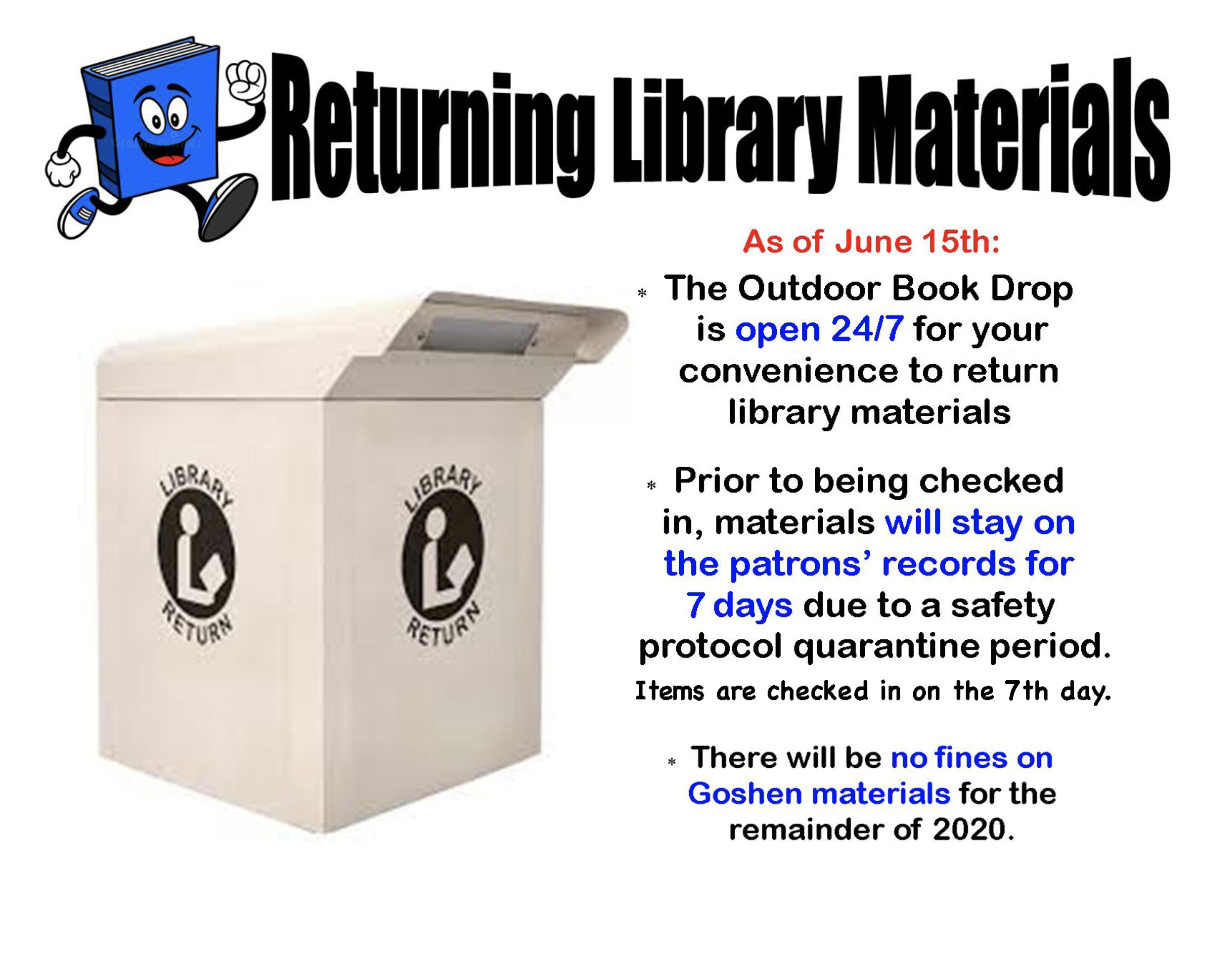 Returning Library Materials 2020